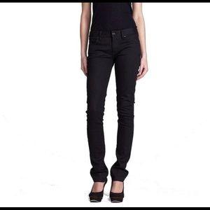Tory burch super skinny jeans black sz 31